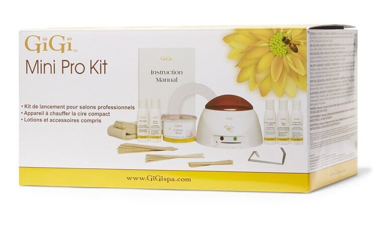 Gigi Mini Pro Waxing Kit