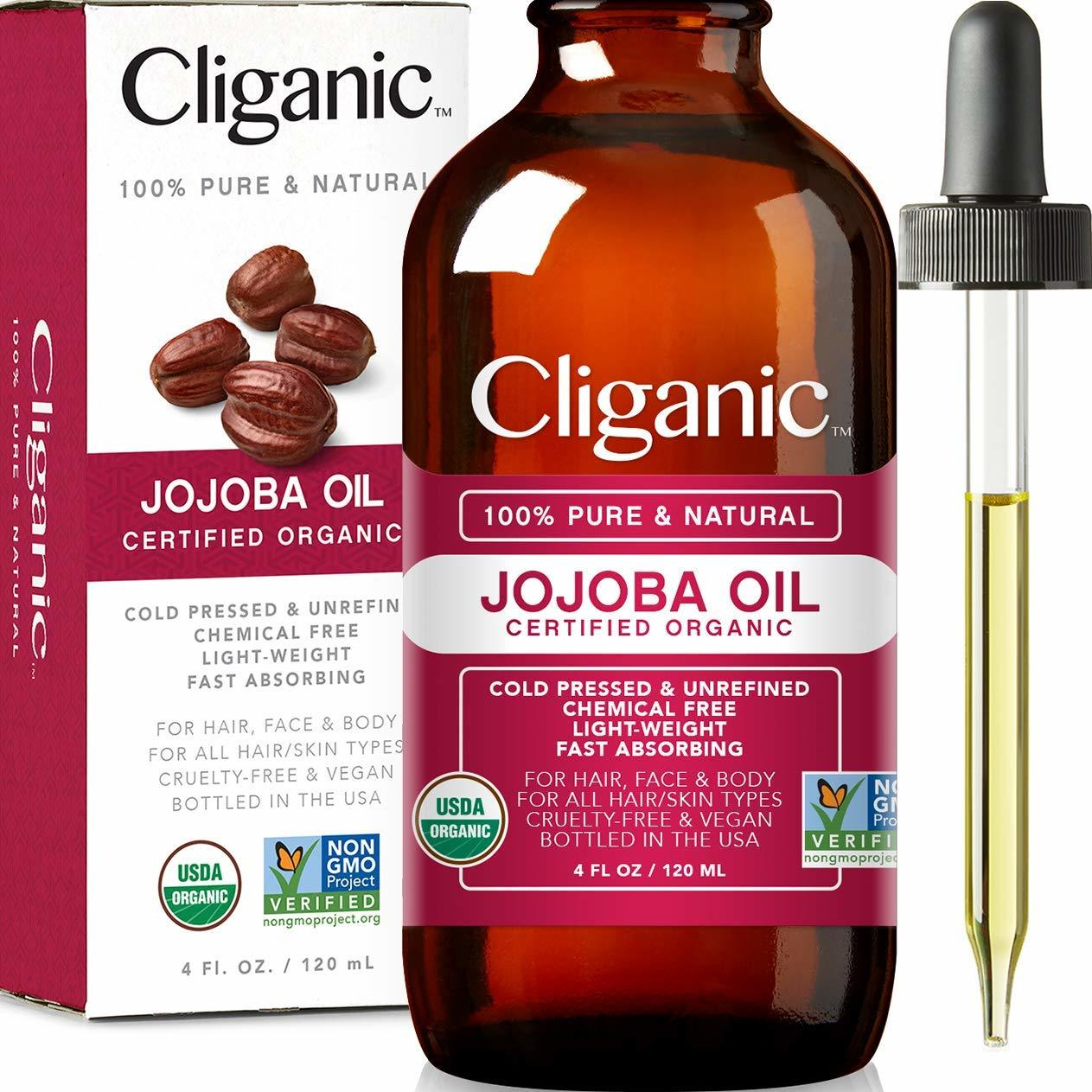 Cliganic Jojoba oil review